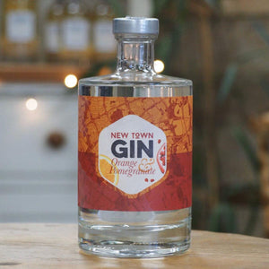 New Town Gin Orange & Pomegranate 50cl - 40% VOL
