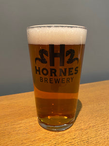 Hornes Pint Glass
