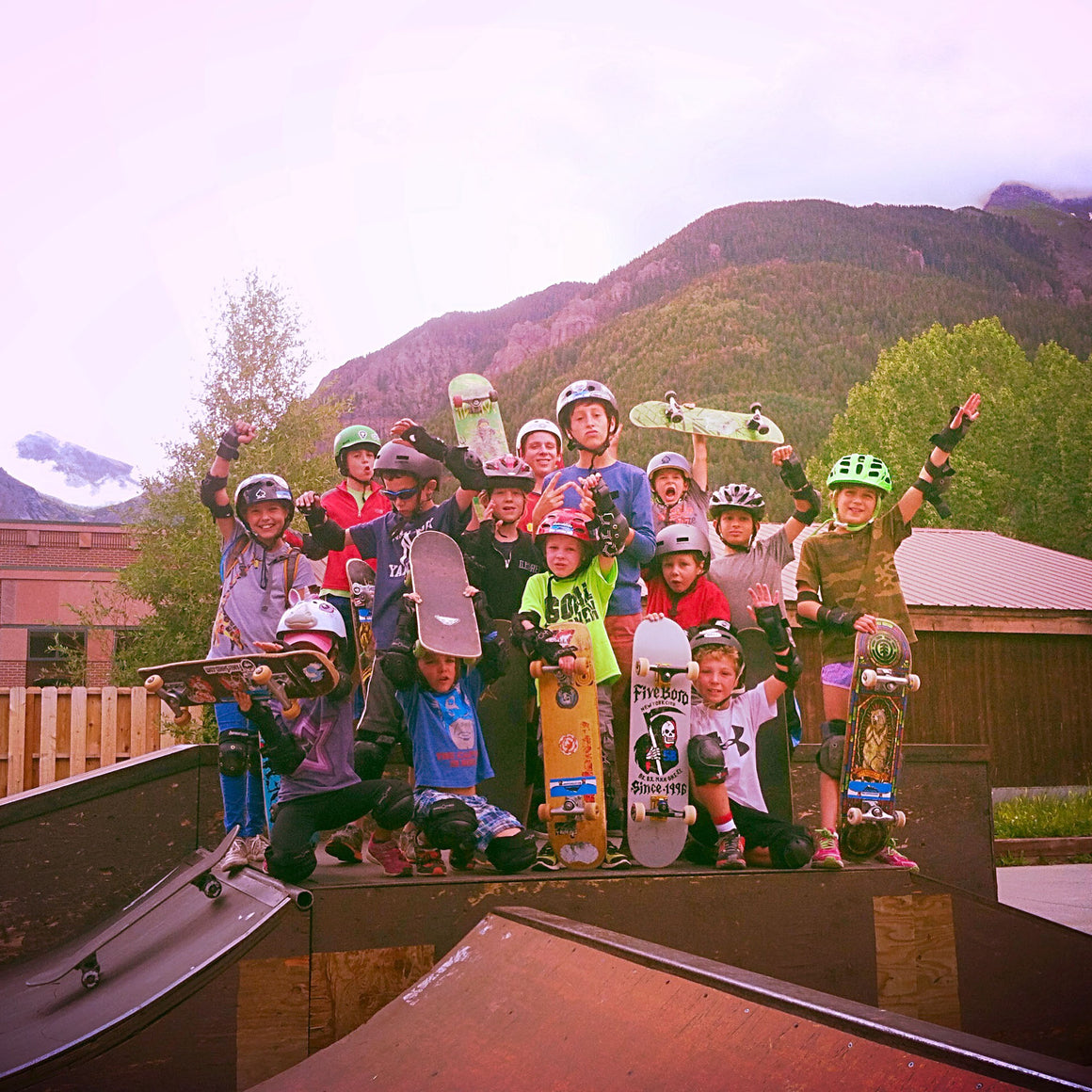 Telluride Summer Skateboard Camp