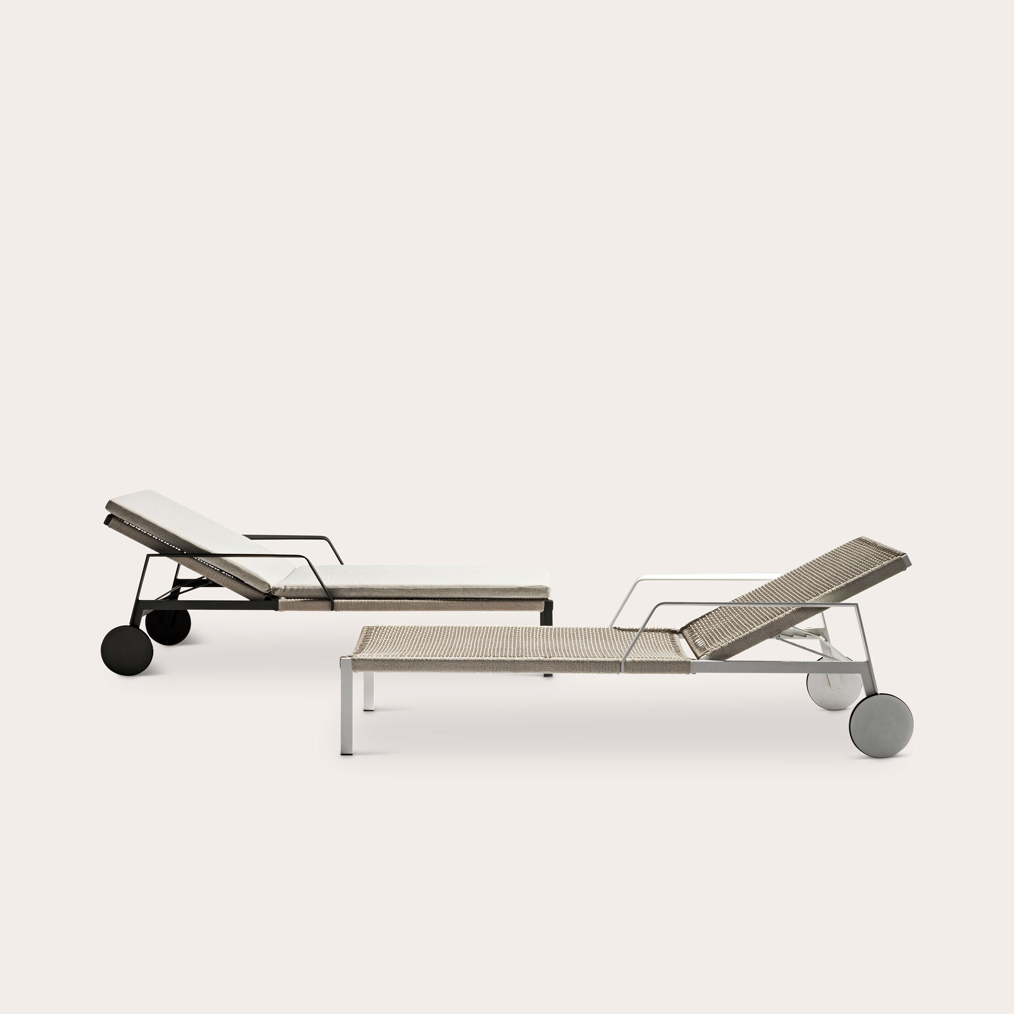 NODI Lounger Outdoor Yabu Pushelberg Designer Furniture Sku: 007-200-11491