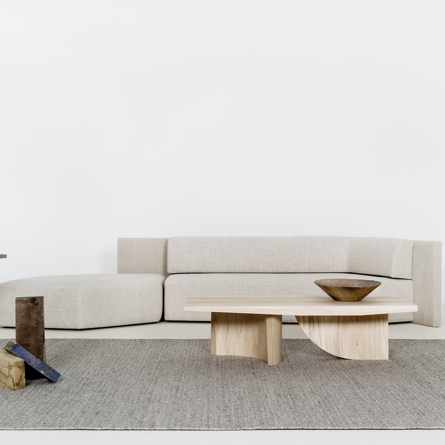 EKO Meridienne + Ottoman Seating Christophe Delcourt Designer Furniture Sku: 008-240-10193