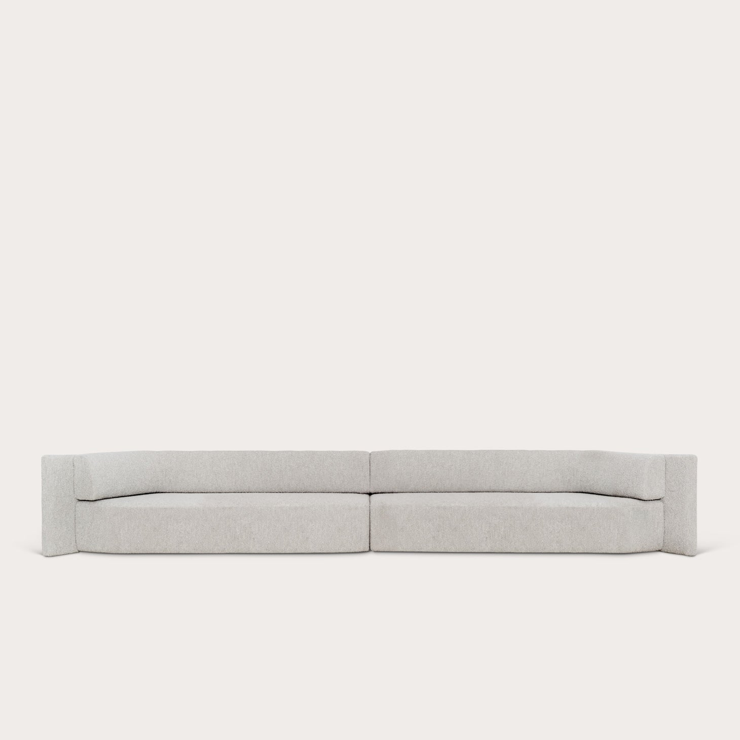 EKO Double Sofa Seating Christophe Delcourt Designer Furniture Sku: 008-240-10195