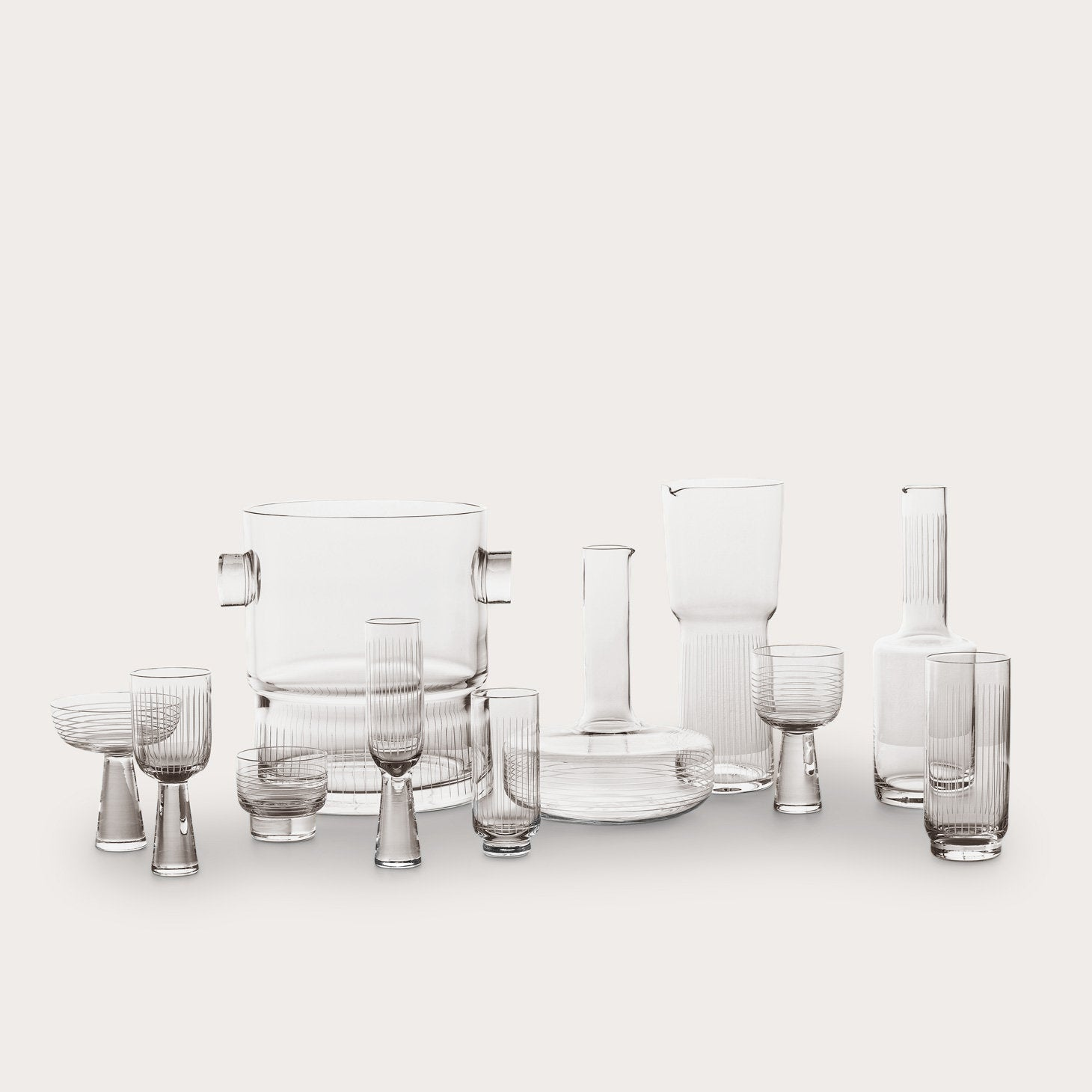 Otto White Wine Class Set of 2 Accessories Yabu Pushelberg Designer Furniture Sku: 110-100-10015