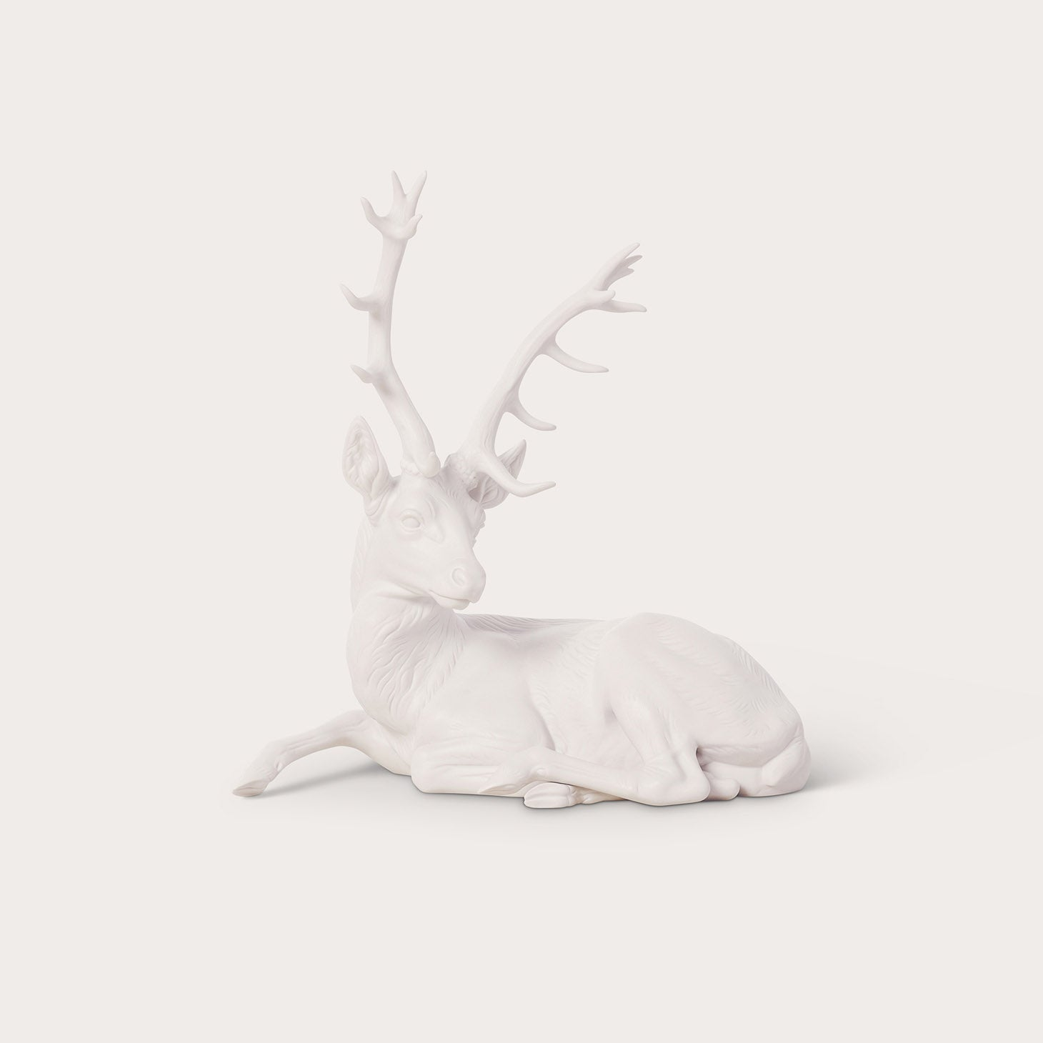 Animals-Lying Stag Accessories Nymphenburg Designer Furniture Sku: 542-100-10004