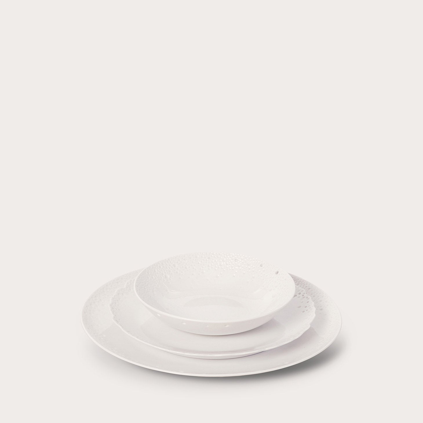 White Coral Plates Accessories Ted Muehling Designer Furniture Sku: 542-100-10091