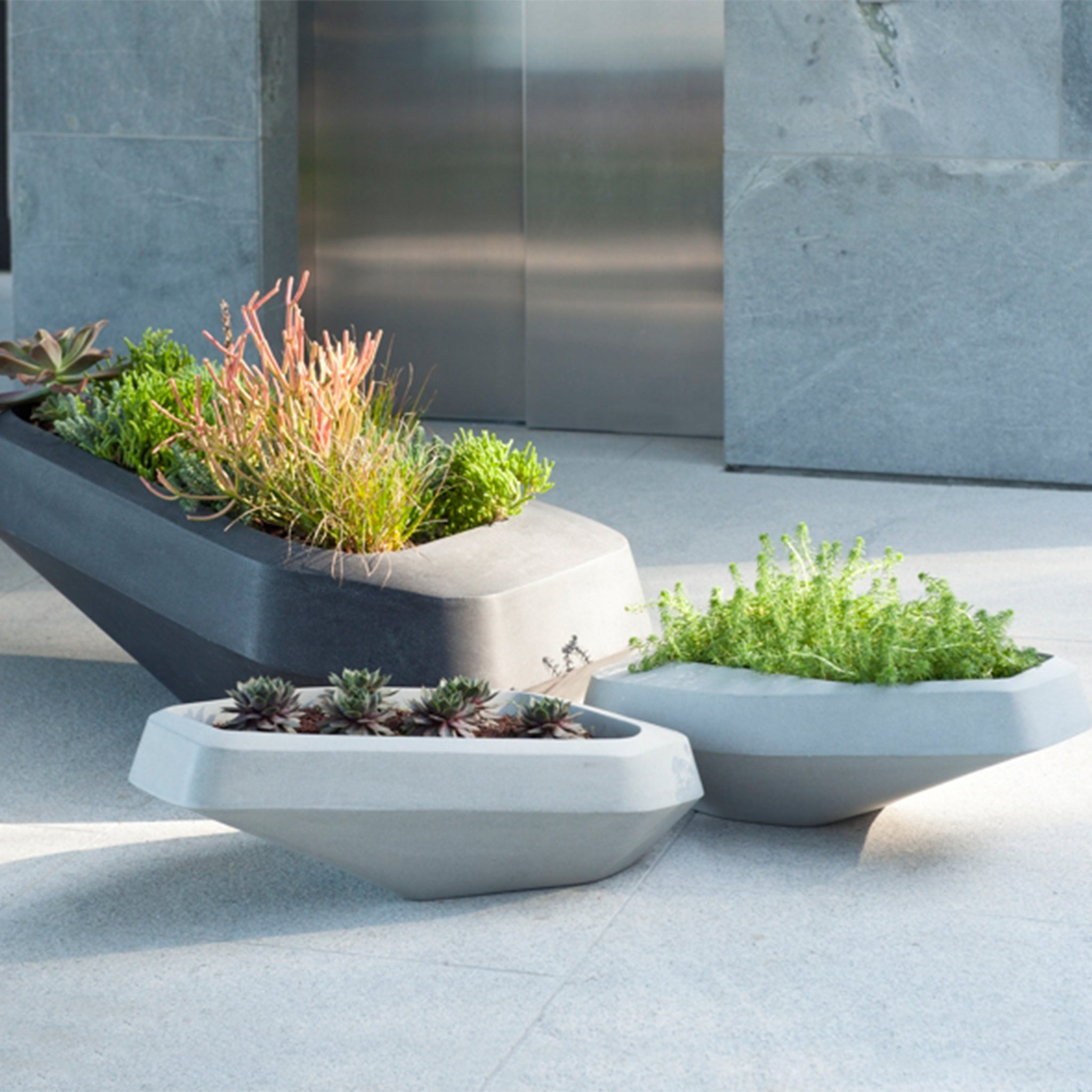 Steen Small planters SAOTA Designer Furniture Sku: 621-100-10006