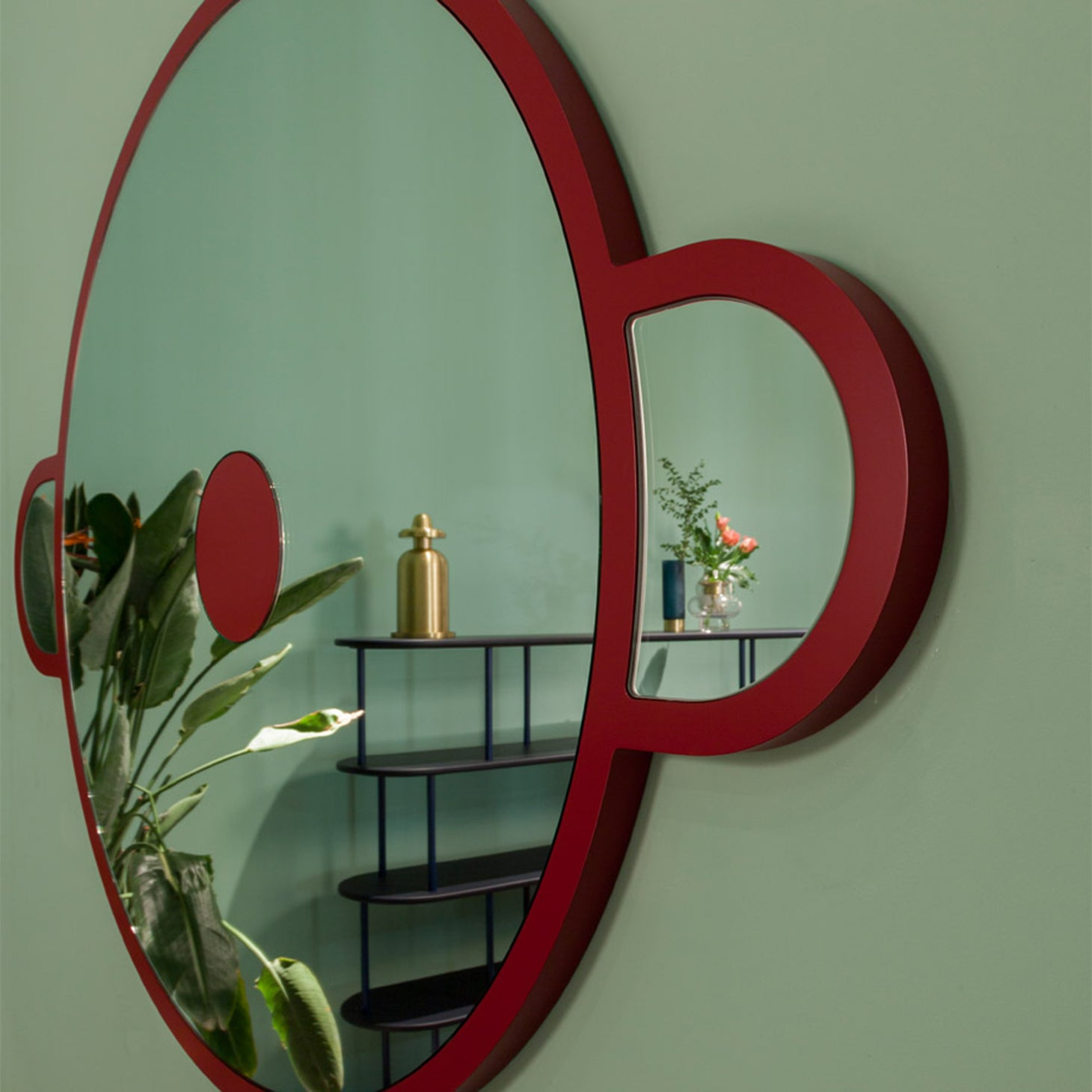 Monkey Mirror Accessories Jaime Hayon Designer Furniture Sku: 758-100-10003