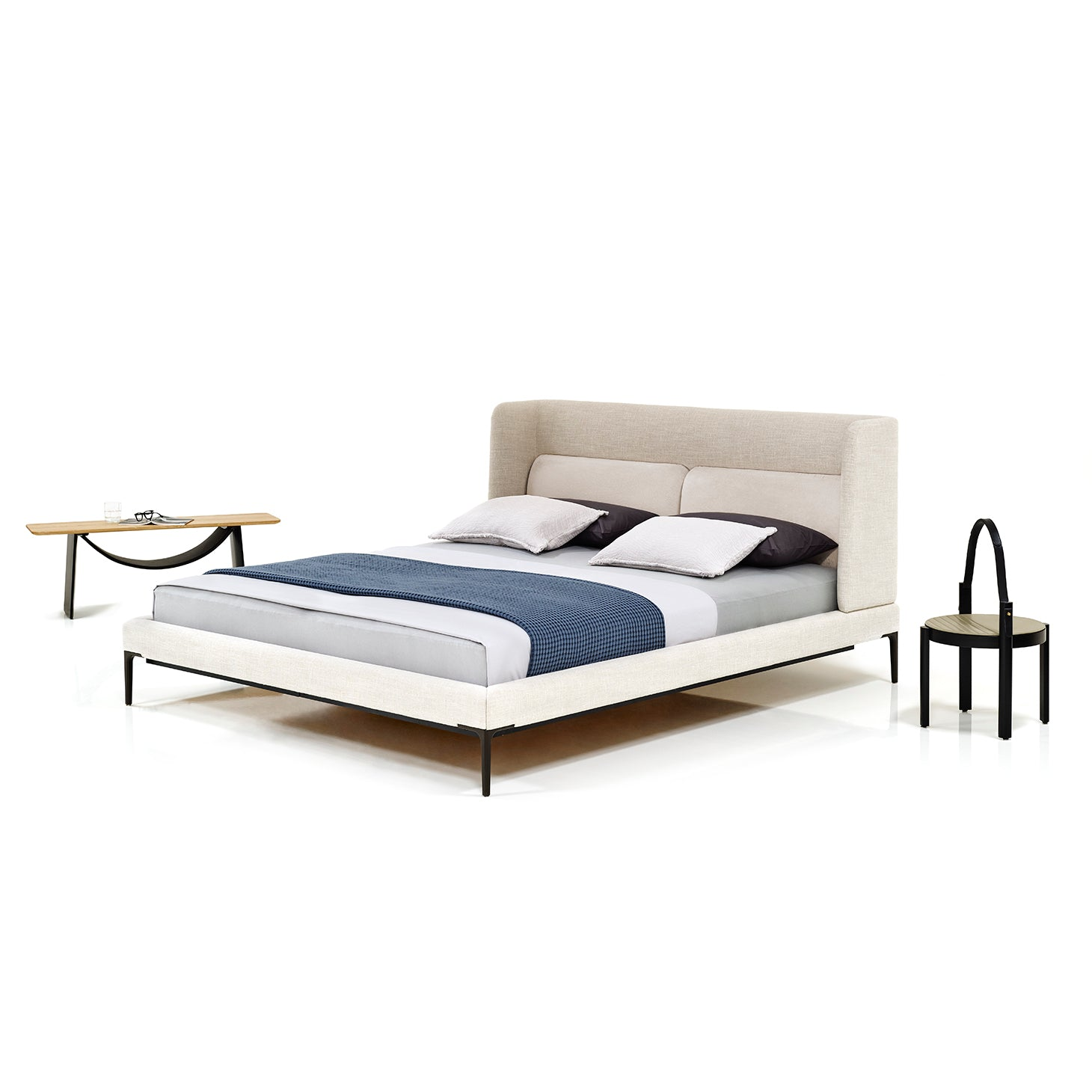 Joyce Niche Bed Beds Nada Nasrallah & Christian Horner Designer Furniture Sku: 758-110-10056