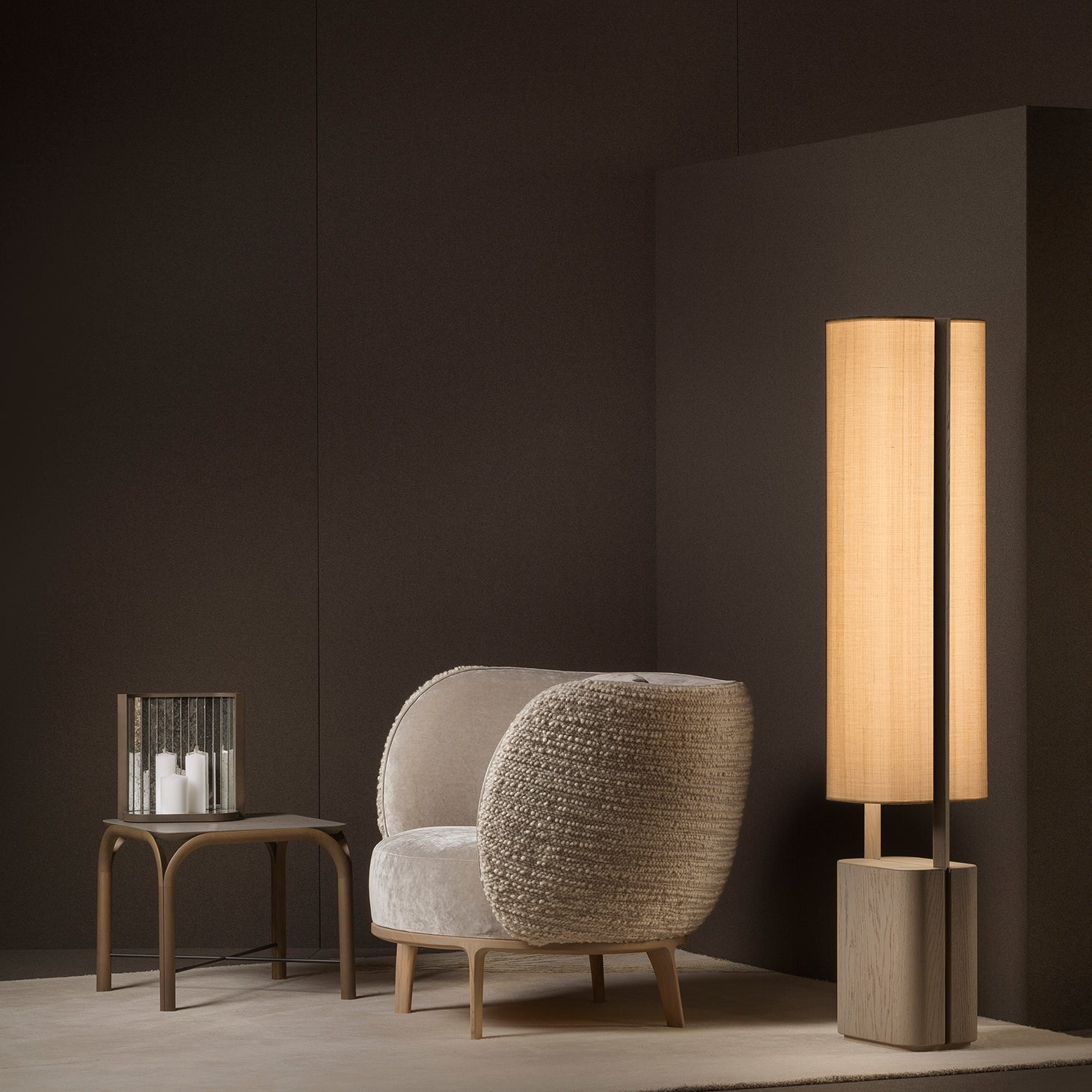 BARI Floor Lamp Lighting Bruno Moinard Designer Furniture Sku: 773-160-10027