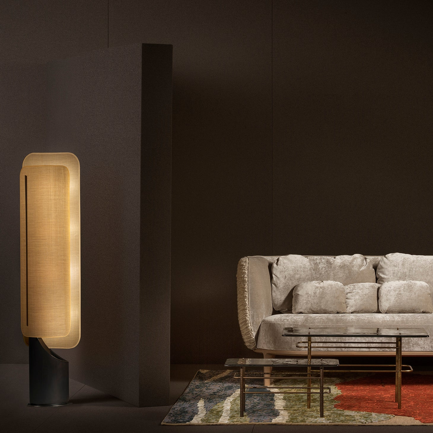 IBIZA Floor Lamp Lighting Bruno Moinard Designer Furniture Sku: 773-160-10029
