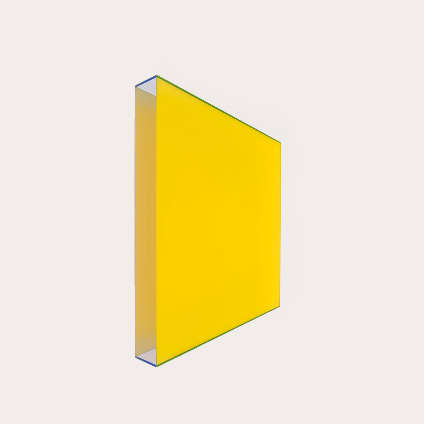 Colormirror Farbrausch V Yellow, Blue, 2010 Artwork Regine Schumann Designer Furniture Sku: 779-270-10014