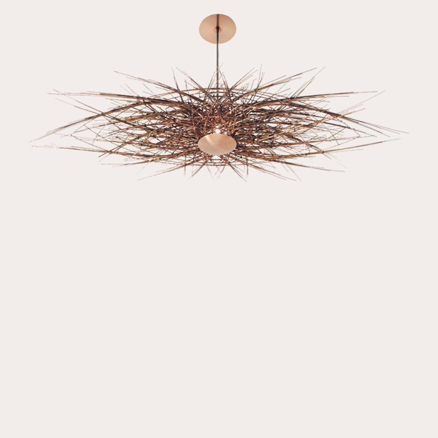 Rue Picot Oval Lighting Kelvin Goddard & Lisa Santana Designer Furniture Sku: 494-160-10003