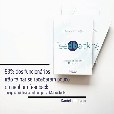 Livro; Feedback; Daniela do Lago; Integrare.
