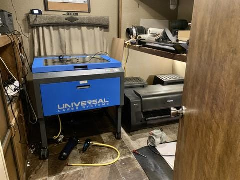Mobile Manufacturing: Traveling With a Laser