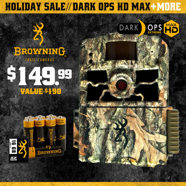 Black Friday Special - Dark Ops HD Max with Batteries + 16GB SD Card