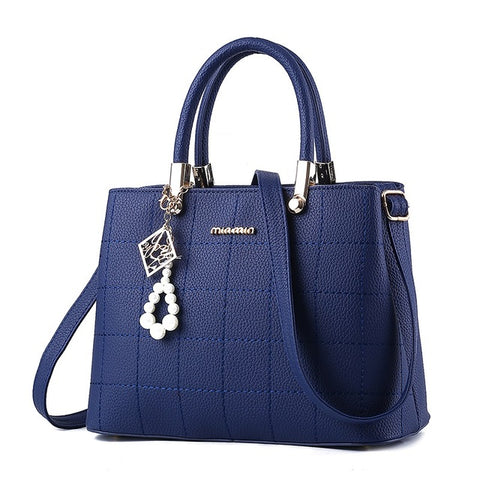 Trendy Messenger Fashion Leather Handbag