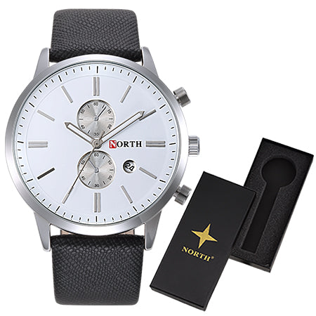 Quartz Luxury Classic Date Waterproof Man Wristwatch