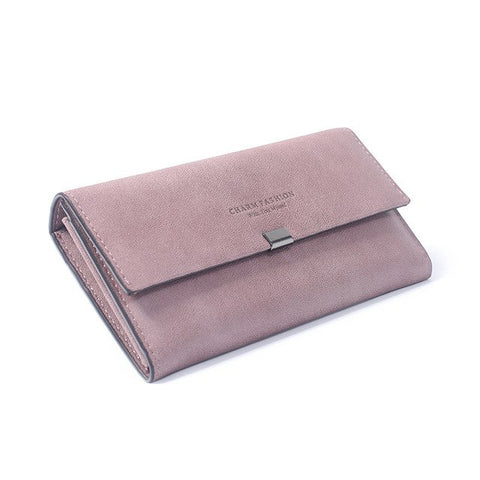 Letter Standard Long Fashion Style Ladies Wallet