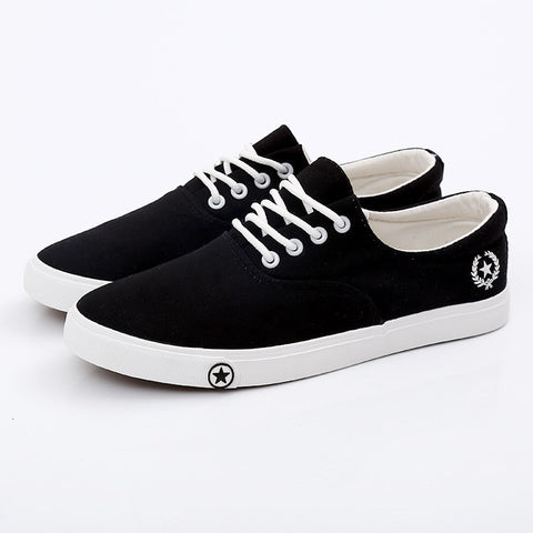 Men's Flat Canvas Breathable Casual Fashion Shoes