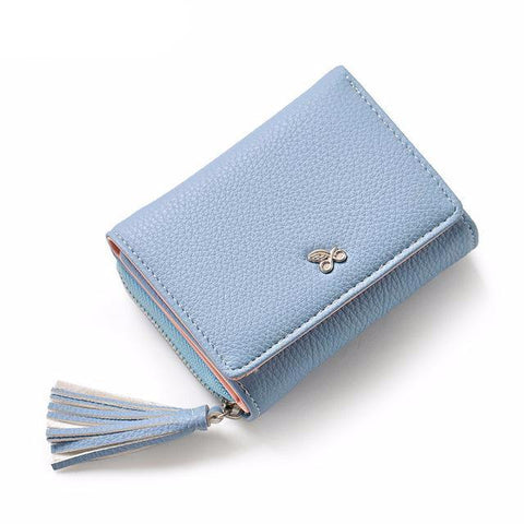 Tassels Zipper Casual Hasp Women Wallet