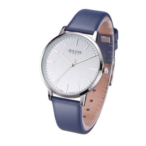 Elegant Simple Lady's Quartz Fashion Leather Bracelet Watch