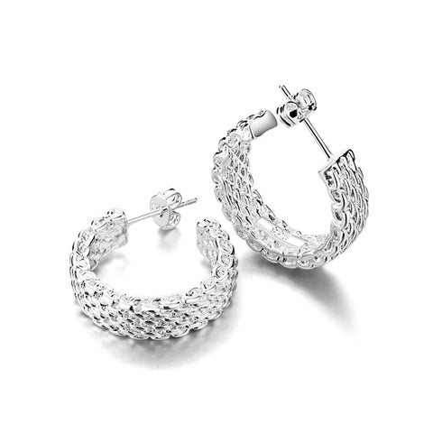 Mesh Charming Lady Retro Look Earrings