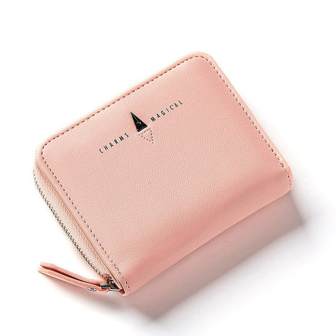 New Style Hasp Short Zipper Women Wallet