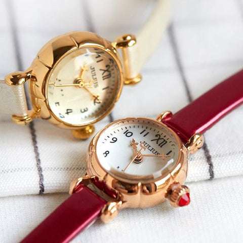 Pumpkin Retro Mini Fashion Bracelet Women Watch