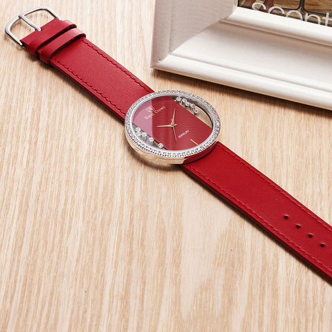 Luxury Jewelry Fashion Dress Colorful Bracelet Lady's Watch