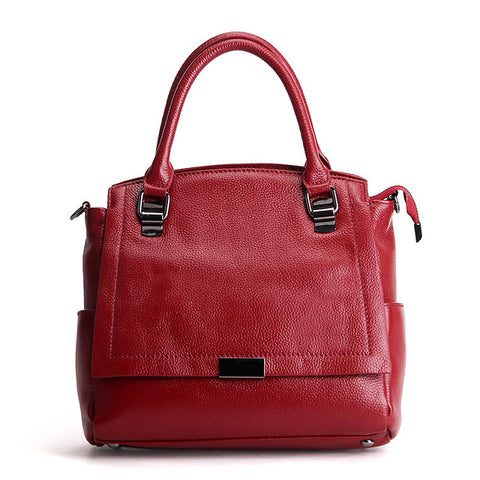 Luxury Leather Fashion Ladies Designer Satchel Handbag