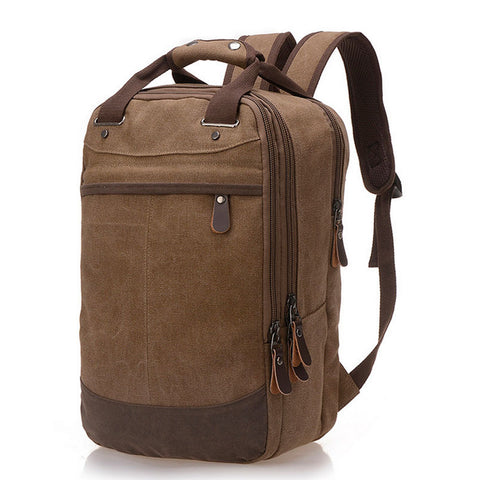 Vintage Canvas Casual Fashion Backpack