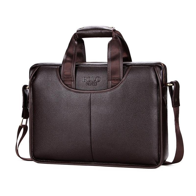 Famous Brand Men's Leather Men Crossbody Shoulder Bag