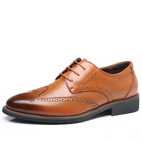Brogue Luxury Classic Designer Formal Men Shoes