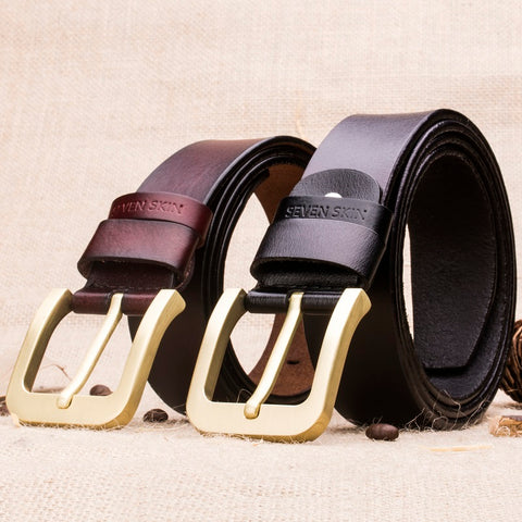Designer Fashion Cool Pin Buckle Leather Belt