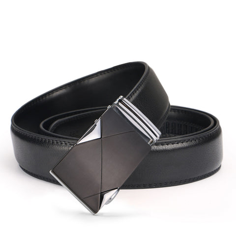Automatic Buckle Casual Fashion Leather Belt