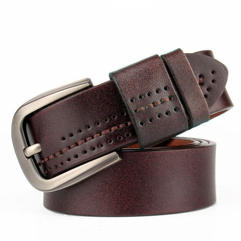 Stylish Casual Pin Buckle Vintage Men Belt