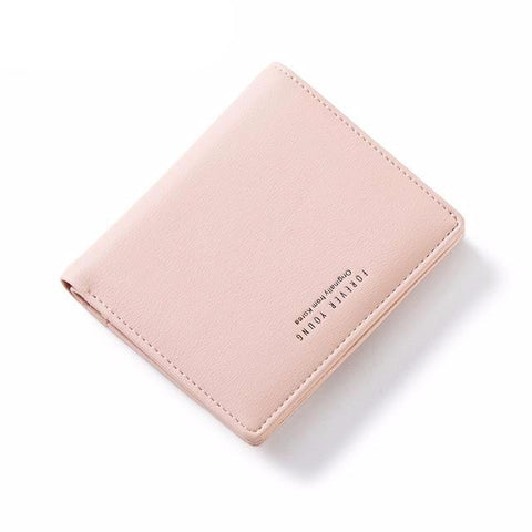 Thin Style Zipper Soft Leather Women Wallet