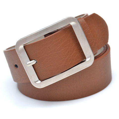 Leisure Fashion Classic Metal Buckle Leather Belt