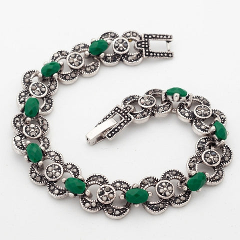 Bohemian Ethnic Jewelry Silver Color Bracelet