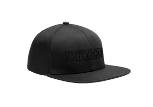 Logo Snapback - Black Thread