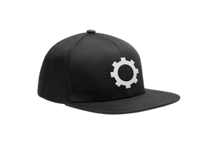 Gear Snapback - White Thread