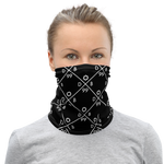 Nine Nine X Pattern Neck Gaiter
