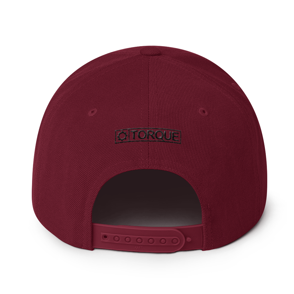 Gear Snapback - Black Thread