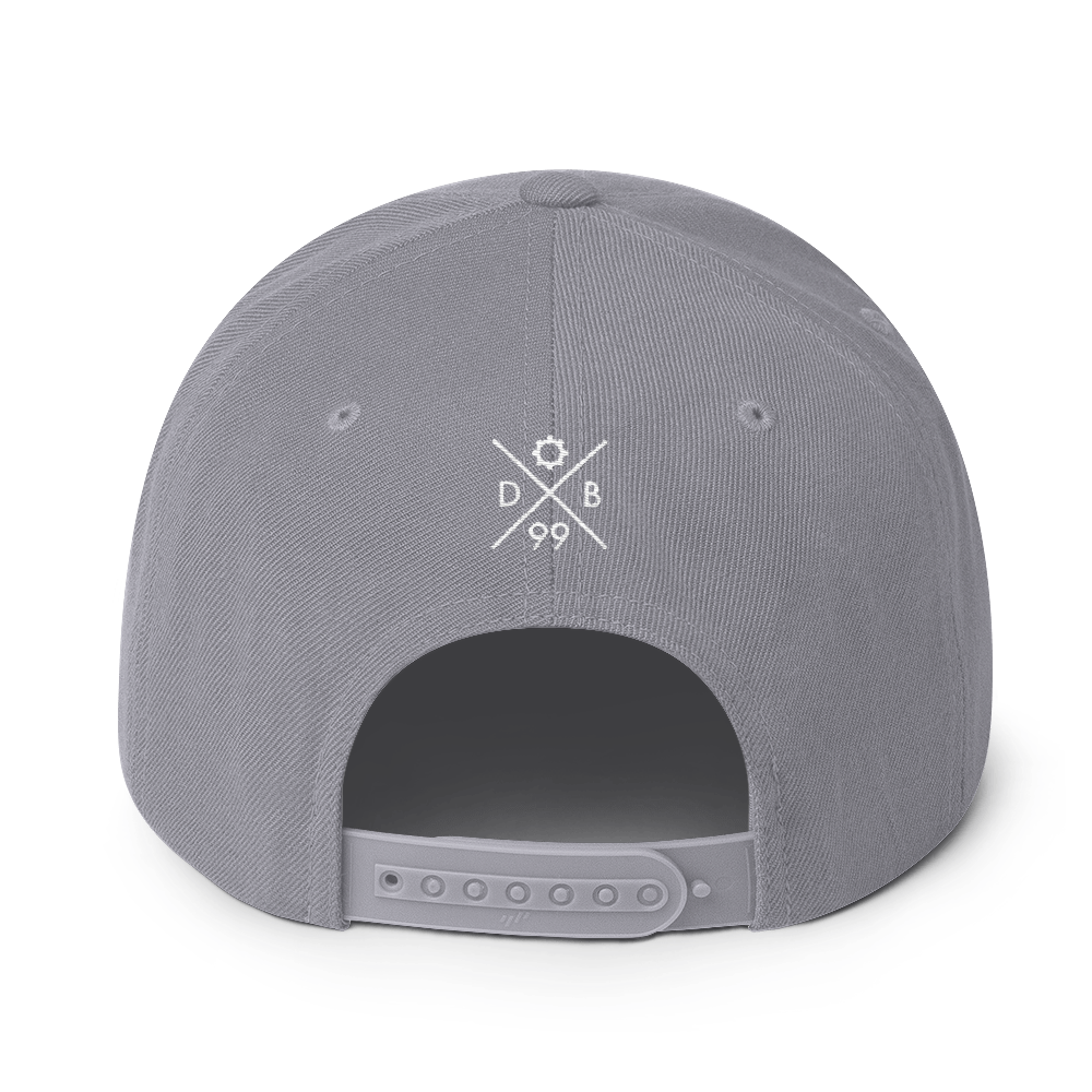 Logo Snapback - White Thread