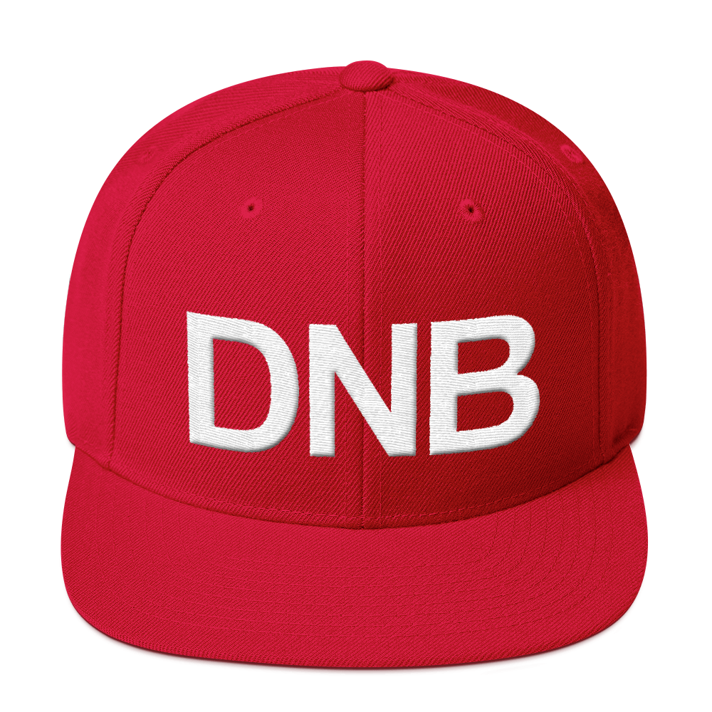 DNB Snapback - White Thread