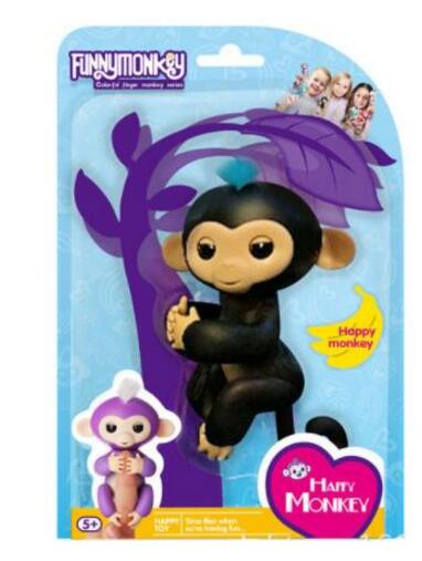 Black Fingerlings Baby Monkey With Box