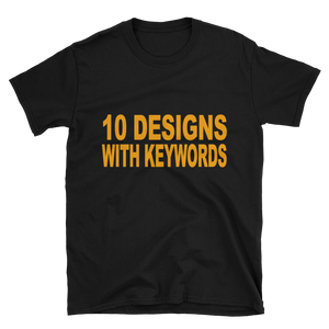 10 Merch By Amazon Designs - With Keywords - Merch Juice