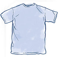 Topside Cotton T-Shirt Sizing