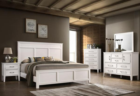 Andover White Bedroom Collection
