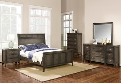 Richfield Smoke Bedroom Collection
